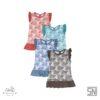KOJO MONSTERA RUFFLE DRESS-4XL